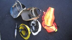 2 Welding Shields/2 Hard Hats/Safety Vest/Air Wrench
