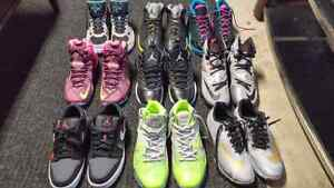 All shoes brand new (Jordan,Lebron, Nike)  Accepting Offers!