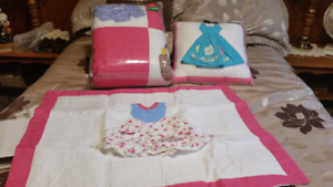 Double quilt set and pillow