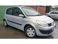 2004(04) RENAULT SCENIC 1.5dCi 80bhp EXPRESSION SILVER MPV PEOPLE CARRIER