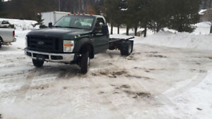 2008 ford f550 4x4 6.4 Turbo Diesel 6 speed manual