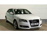 2012 Audi A3 2.0 TDI Sport 5dr [Start Stop] HATCHBACK Diesel Manual