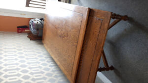 Reduced price! Anthes baetz antique wood dining table