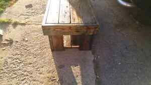 Barn board coffie table 2foot by 5foot by 16 inch Cambridge Kitchener Area image 4