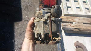 EXHAUST MANIFOLD AND CARB CORE 1948 PONTIAC SILVER STREAK