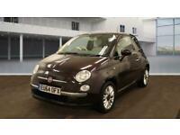 2014 Fiat 500 1.2 Lounge (s/s) 3dr Hatchback Petrol Manual
