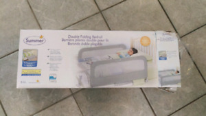 Summer infant grey bed rail, new.