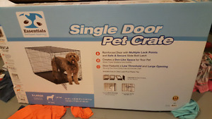 Xl pet crate new condition