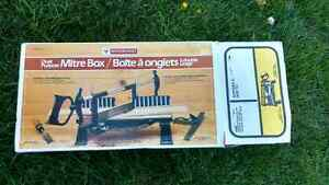 Mastercraft Mitre box brand new in package Kawartha Lakes Peterborough Area image 1
