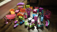 Polly Pocket Furniture (assorted)