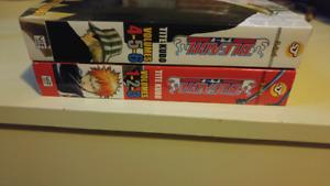 Bleach manga 1-6