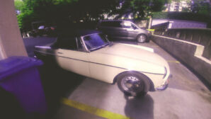 1968 MGB early 2000's bare metal restoration