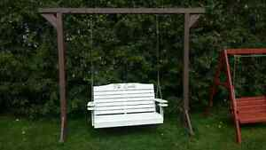 Beautiful  custome hand crafted porch swing Stratford Kitchener Area image 8