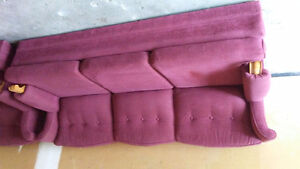 BURGANDY COUCH FOR SALE. CLEAN Kitchener / Waterloo Kitchener Area image 1