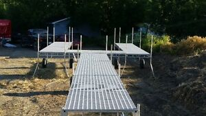 Aluminum Dock 20ft rolling (Summer Pricing) TR Aluminum Designs Regina Regina Area image 5