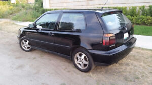 1998 Volkswagen GTI Hatchback 5-spd w/ power Sunroof