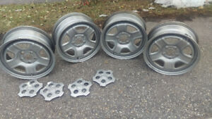 4 - 16 inch steel rims for Jeep Patriot or Jeep Compass