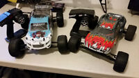2 R/C Cars, Not for beginners