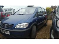2003 7 seater estate Vauxhall zafira 1.6i 16v Club super looked after car