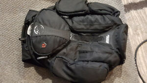 New no tags Motorcycle Moose Racing XCR Backpack Rain Cover Etc