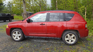 2008 Jeep Compass Burgundy SUV, Crossover