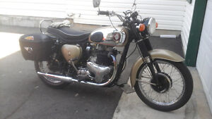 You  don't  see  many  of  these  BSA A10 golden  flash   around