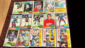 Hockey card lot