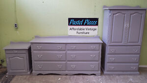 Professionally painted 4 piece bedroom dresser set from $229 pc