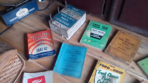Ford dealer issue shop manuals from 1950's and more