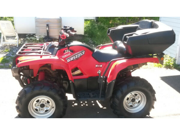 Yamaha grizzly 700 with eps for sale canada for Yamaha grizzly 80