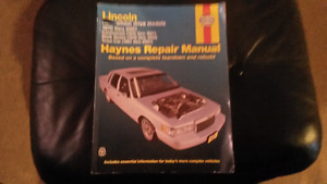 Lincoln Hanes Repair Manual