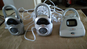 SAFETY BABY MONITOR TWO STATION