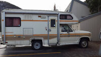 Ford F250 motor-home