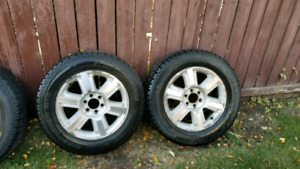 F150 winter tires and rims