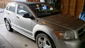2007 Dodge Caliber R/T AWD +  Studded Winter tires, only 80k kms