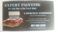 Painter with 25 years experience available.