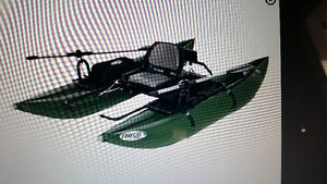 Excelent condition personal pontoon boat.