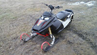"2004 SKIDOO Summit REV 800HO Rebuilt, 151"", Nice Shape."