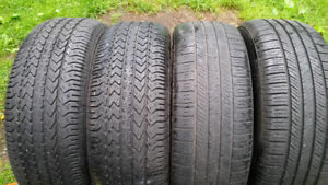 FOUR 225 55 17 ALL SEASON TIRES