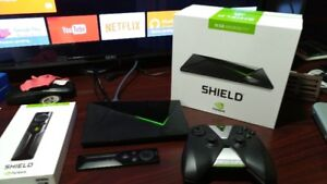 NVIDIA SHIELD ANDROID TV CONSOLE 16GB with Remote