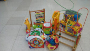 (121) Baby developing toys from 5$ each