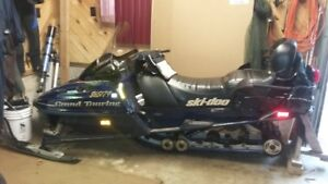 1999 Skidoo Grand Touring 500 for sale