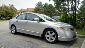 '07 Honda Civic 5 speed stick shift in great condition