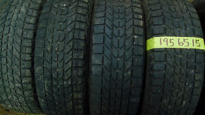 Sets and pairs of winter R15 tires