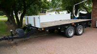 14 ft Flatdeck Trailer