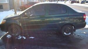 2002 Toyota Echo 4 Door 5 Speed AC only 181K $2899!