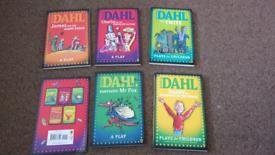 Roald Dahl Play Books x5