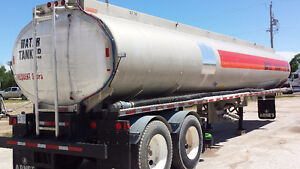 1985 Water Tanker trailer and spray bar unit