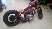 Yamaha XS 650 Bobber Wetherill Park Fairfield Area Preview