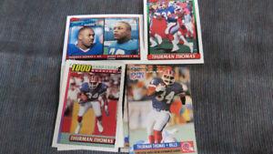 Thurman Thomas NFL cards(7)
